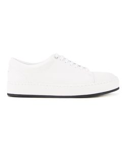 Wooyoungmi | Classic Lace-Up Sneakers Mens Size 43 Leather/Rubber