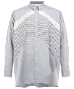 08Sircus | Contrast Panel Shirt Mens Size 6 Cotton