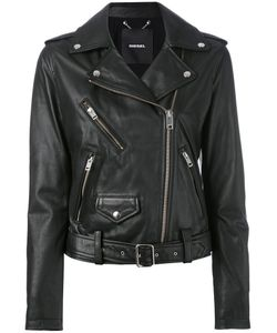 Diesel | Biker Jacket Womens Size Small Calf Leather