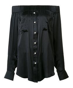 Natasha Zinko   Off-Shoulder Blouse Size 34 Silk