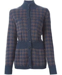 Guy Laroche Vintage | Houndstooth Cardigan Womens Size 38