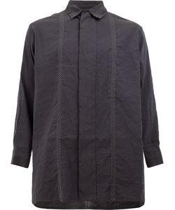 Uma Wang | Stitching Detail Shirt Size Medium Cotton/Linen/Flax