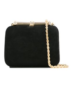 Loriblu | Chain Clutch Bag Womens Suede