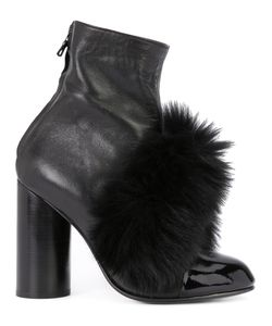 Valas | Pompom Boots Womens Size 36 Leather