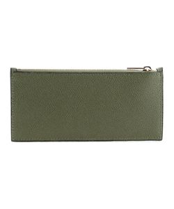 Valextra | Card And Coin Zip Purse Womens Leather