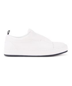 Wooyoungmi | Laceless Sneakers Mens Size 41 Leather/Rubber