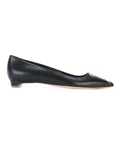 Rupert Sanderson   Pointed Toe Ballerinas Womens Size 36 Leather