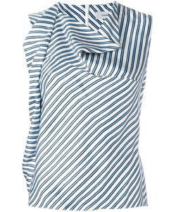 Carven | Striped Top Womens Size 38 Silk