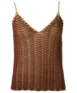 Gig | Knit Tank Top Womens Size Pp Polyamide/Polyester/Viscose