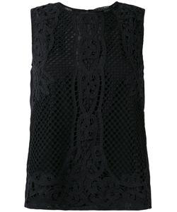Twin-Set | Applique Detail Tank Womens Size 38 Cotton/Viscose/Polyester
