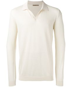Nuur | Stylised Collar Sweatshirt Mens Size 50 Cotton