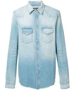 Amiri | Denim Shirt Mens Size Large Cotton/Spandex/Elastane