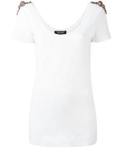 Twin-Set | Embellished T-Shirt Womens Size Xs Cotton