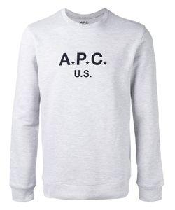 A.P.C. | Logo Sweatshirt Mens Size Xl Cotton/Polyester