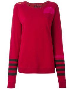Freecity | Multi Print Sweatshirt Womens Size Medium Cotton