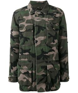 Valentino | Camouflage Jacket Womens Size 38 Cotton