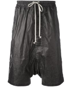 Rick Owens DRKSHDW | Drop Crotch Shorts Mens Size Small Cotton