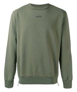 Off-White | Logo Print Sweatshirt Mens Size Xl Cotton