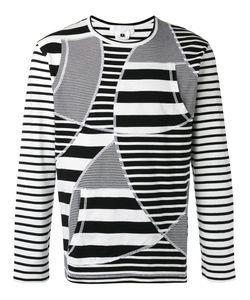 Ganryu Comme Des Garcons | Striped Sweatshirt Mens Size Medium Cotton