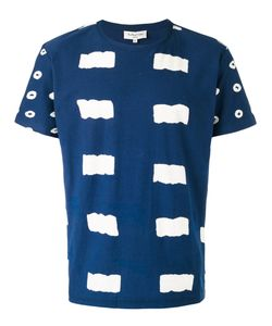 YMC | Patterned T-Shirt Mens Size Small Cotton