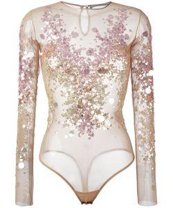 Amen | Sequin Embellished Bodie Womens Size 38 Polyamide/Spandex/Elastane/Pvc