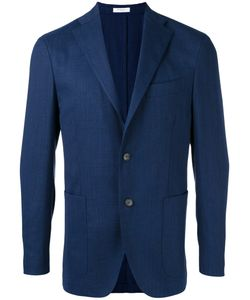 Boglioli | Classic Blazer Mens Size 52 Elastodiene/Virgin Wool/Acetate/Cupro