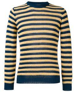 Nuur | Striped Jumper Mens Size 50 Cotton