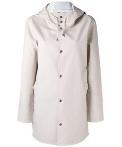 Stutterheim   Hooded Raincoat Womens Size Xxxs Cotton/Polyester