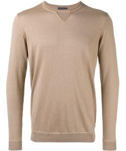 Laneus | Plain Sweatshirt Mens Size 50 Silk/Cashmere