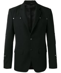 Givenchy | Logo Stud Blazer Mens Size 48 Cotton/Cupro/Wool