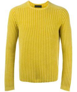Iris von Arnim | Ribbed Jumper Mens Size Large Cashmere