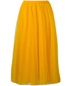 Rochas   Elasticated Waistband Tulle Skirt Womens Size 40 Polyimide