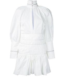 Ellery | Bubble Sleeve Pleated Dress Womens Size 8 Polyester
