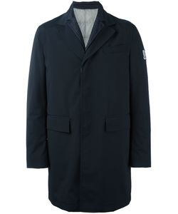 Moncler Gamme Bleu | Logo Patch Single-Breasted Coat Mens Size 4
