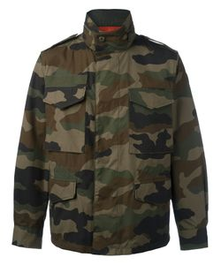 Moncler | Camouflage Military Style Jacket Mens Size 6 Cotton/Polyamide