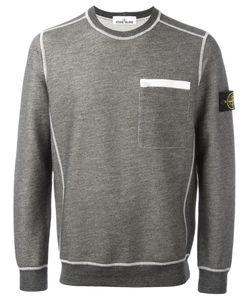 Stone Island   Chest Pocket Sweatshirt Mens Size Xxl Cotton/Polyester