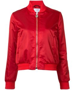 Carven | Zipped Bomber Jacket Womens Size 36 Acetate/Polyamide/Viscose