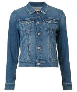 Mother | Denim Jacket Womens Size Small Acetate/Cotton/Spandex/Elastane