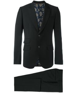 Gucci   Classic Two Piece Suit Mens Size 52 Wool/Mohair/Silk/Viscose