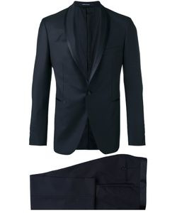 Tagliatore   Shawl Lapel Two-Piece Suit Mens Size 48 Virgin Wool/Cupro
