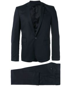 Les Hommes | Single Breasted Suit Mens Size 48 Cotton/Viscose/Spandex/Elastane