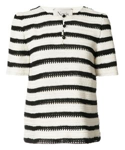 Novis | Cookson Knitted Top Womens Size Medium Silk