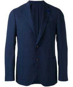 Lardini | Two-Button Blazer Mens Size 52 Wool/Mohair/Viscose/Cupro