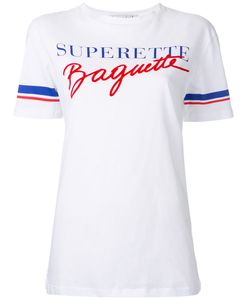 Être Cécile | Superette Baguette T-Shirt Womens Size Medium Cotton