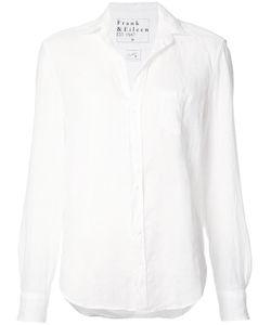 Frank & Eileen   Eileen Shirt Womens Size Medium Linen/Flax