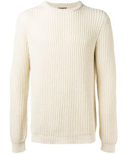Nuur | Ribbed Detail Jumper Mens Size 52 Cotton/Nylon