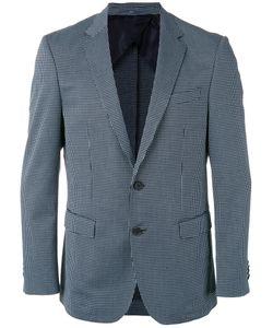 Boss Hugo Boss | Checked Blazer Mens Size 52 Cotton/Polyamide/Polyester/Viscose