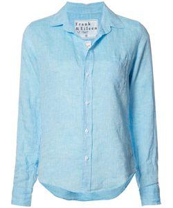 Frank & Eileen   Barry Shirt Womens Size Small Linen/Flax