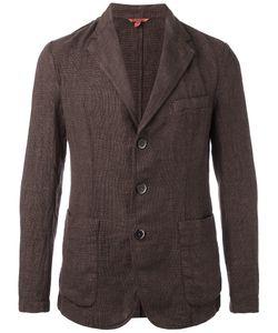 Barena   Front Pocket Blazer Mens Size 46 Cotton/Linen/Flax/Polyester