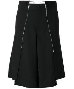 Comme Des Garçons Homme Plus | Wide-Legged Asymmetric Shorts Mens Size Large